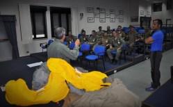 Durante il briefing