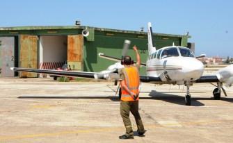 Cessna 404 Latvia Border Guard