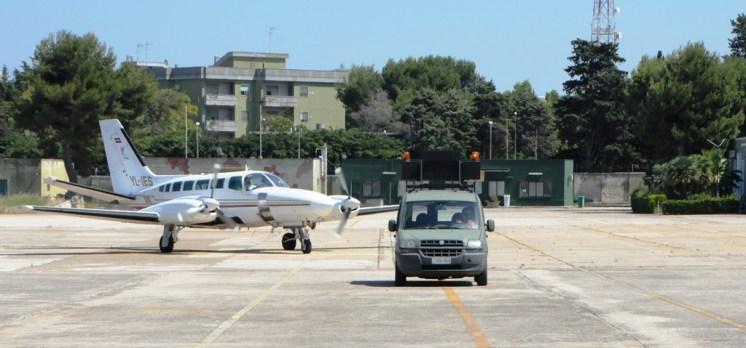aereo della Latvia Border Guard