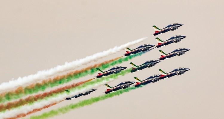Esibizioni PAN Frecce Tricolori 2018