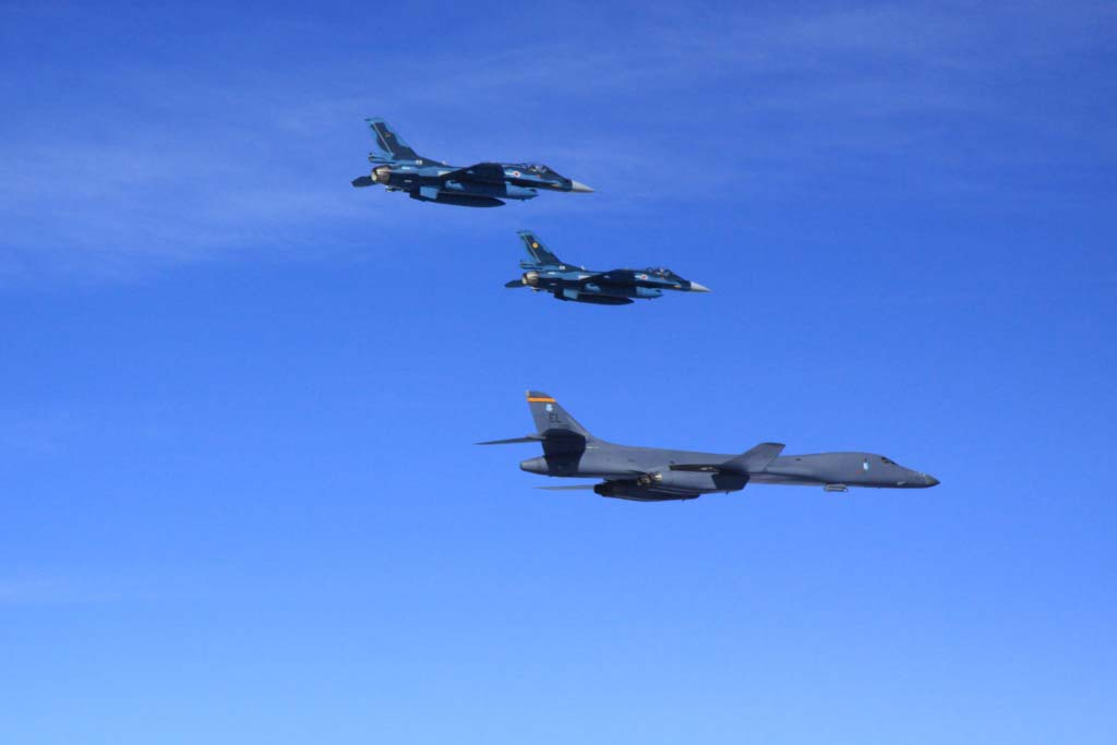 bombardieri strategici americani b-1