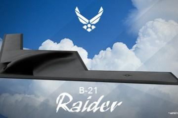 Nuovo bombardiere strategico americano B-21 Raider