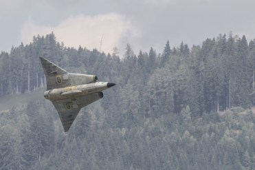 foto del SK-35 Draken Swedish Air Force Historic Flight