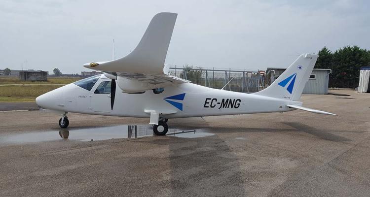 European Aviation School barcellona Tecnam P2006T