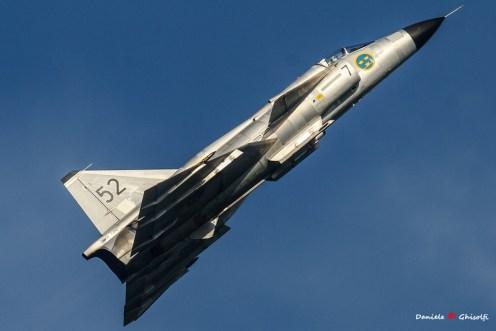 Viggen della Swedish Air Force Historic Flight