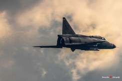 foto dei Viggen della Swedish Air Force Historic Flight