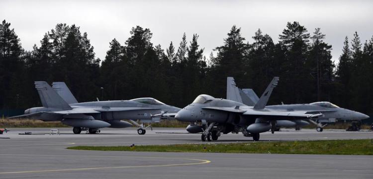 F-18 hornet finlandesi
