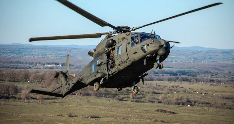 elicotteri militari italiani della Task Force Erbil