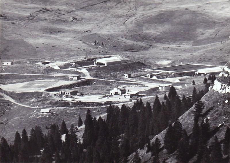 malga zonta area lancio ex base nato di passo coe