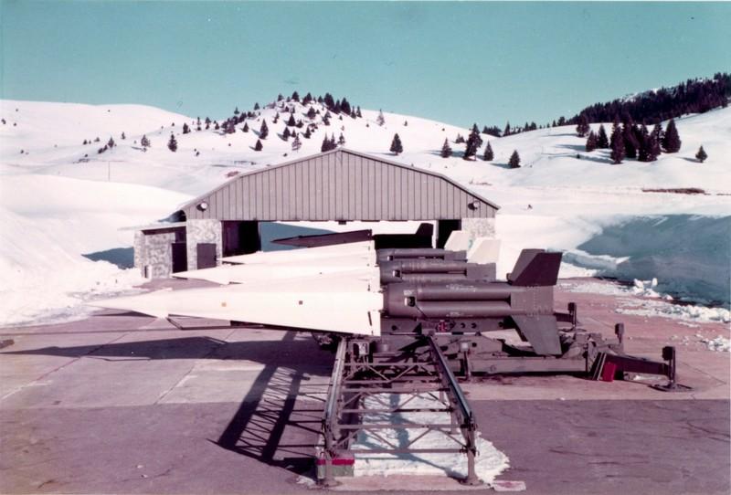 Missili Nike alla Base NATO di Passo Coe