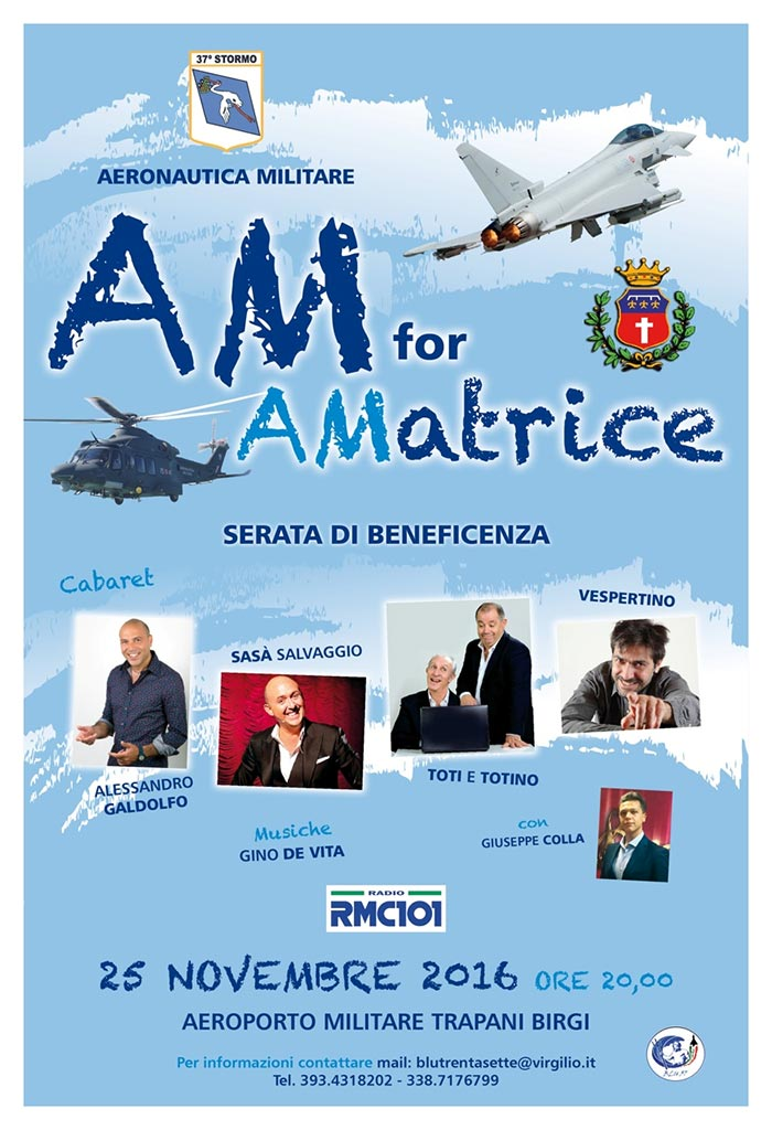 AM for Amatrice 37° Stormo Trapani