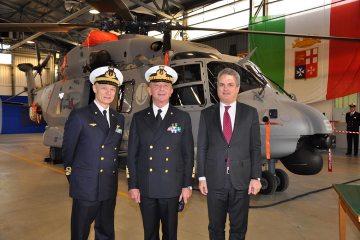 consegnato il primo elicottero MH-90 alla Marina Militare