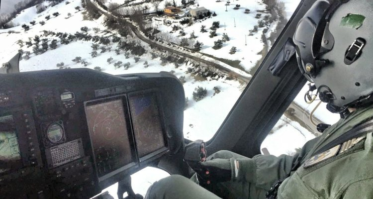 Soccorso aereo Aeronautica Militare