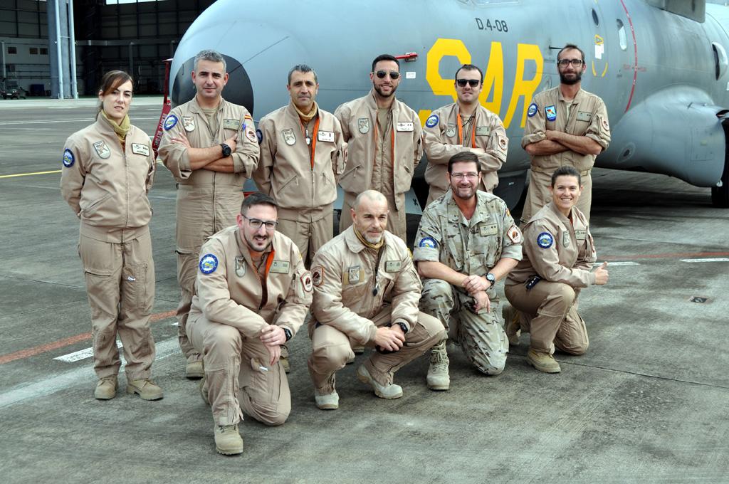 Equipaggio CN-235 Vigma D4 Ejercito del Aire