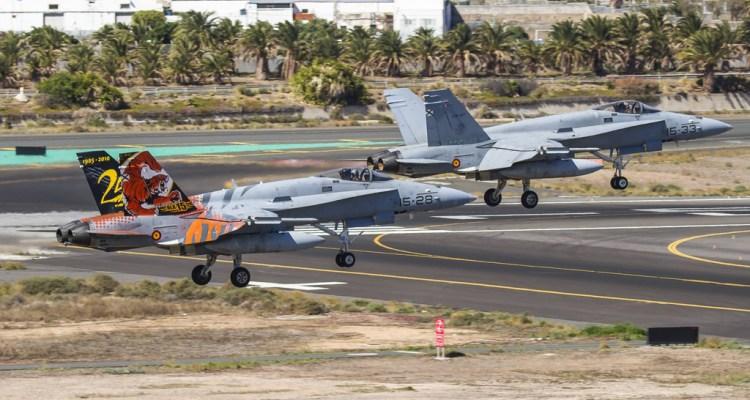 Dissimilar Air Combat Training DACT 2017