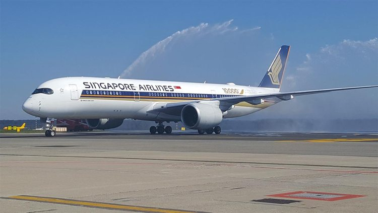Airbus A350 Singapore Airlines