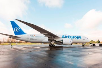 Boeing B-787 dreamliner di Air Europa