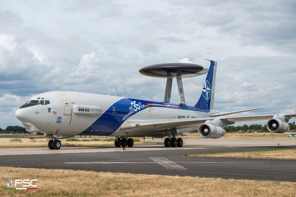 NATO E-3A Sentry Awacs 35° Anniversario
