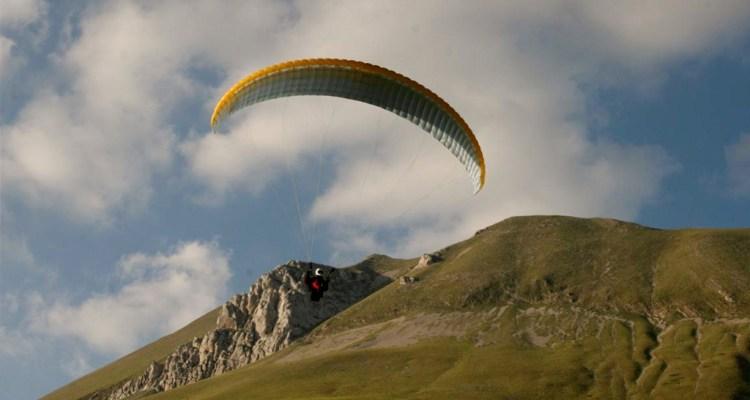 volare con il parapendio