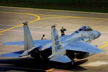 USAFE F-15C Eagle 48th Fighter Wing RAF Lakenheath
