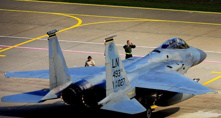 USAFE F-15C Eagle 48th Fighter Wing RAF Lakenheath