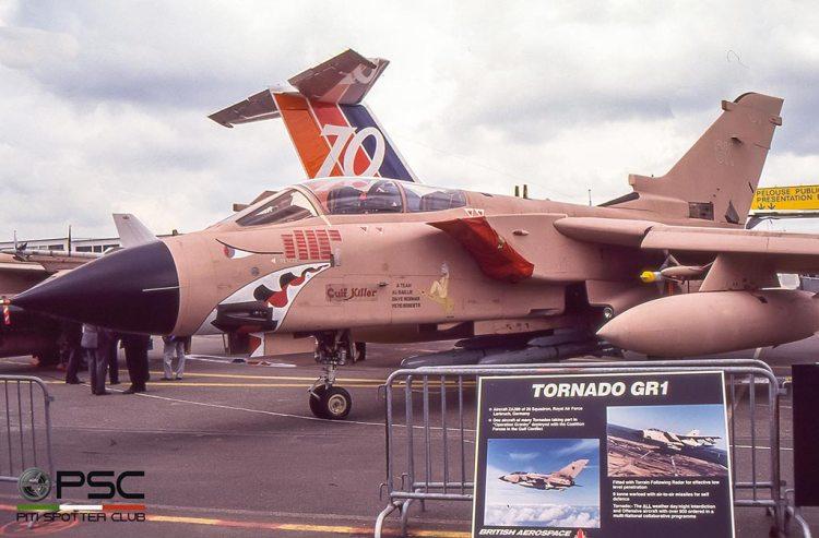 Tornado RAF guerra del golfo 1991