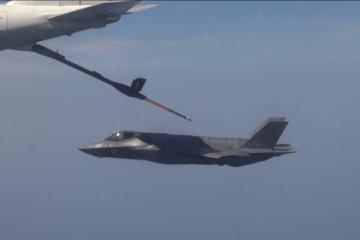Rifornimento in volo F-35I Adir israele