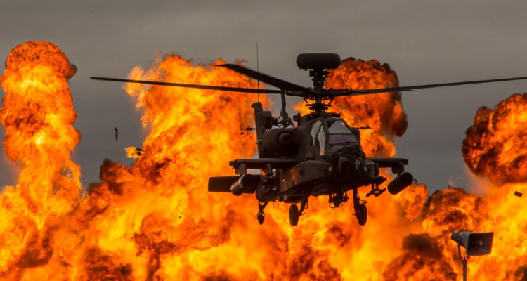 Royal International Air Tattoo RIAT 2017 Apache Royal Army