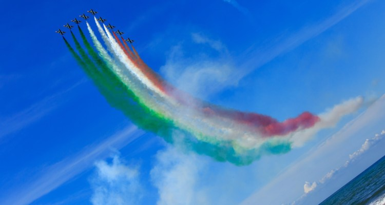 Frecce Tricolori al Vasto Air Show 2017
