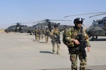 Elicotteri dell'Esercito in Afghanistan