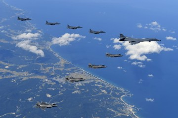 show of force corea del nord