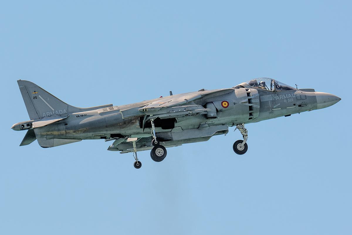 AV-8 Harrier Marina Militare spagnola