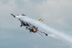 F-16 Demo Team Belgian Air Component