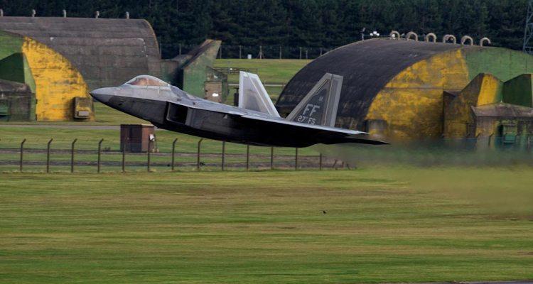 Lockheed Martin F-22A Raptor in Europa