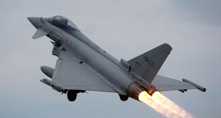 eurofighter typhoon 36 stormo