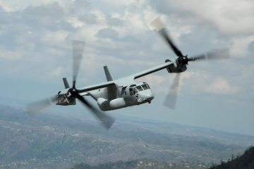 Bell Boeing V-22 Osprey 400.000 ore di volo