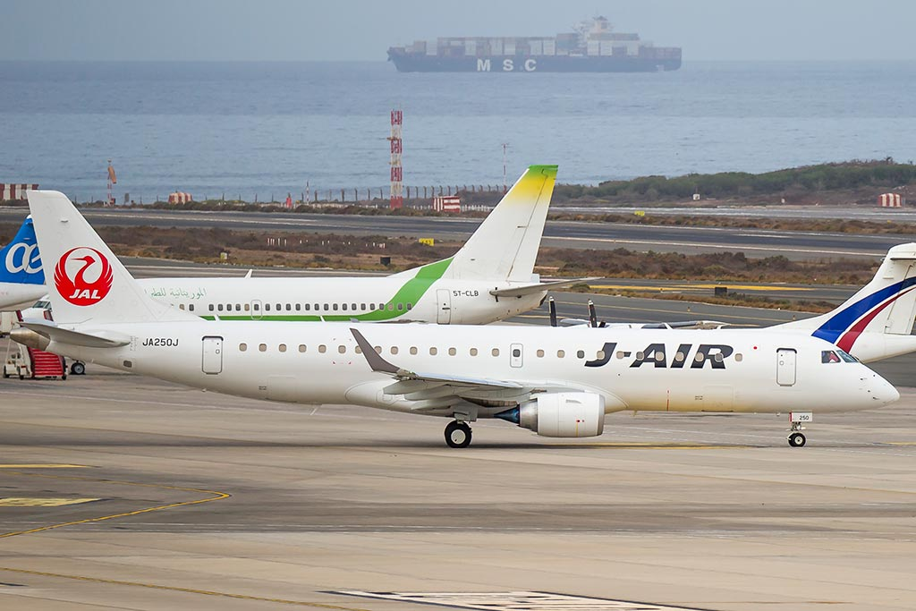 Embraer ERJ190 Japan Airlines