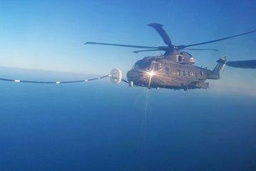 Rifornimento in volo HH-101A Caesar Aeronautica Militare