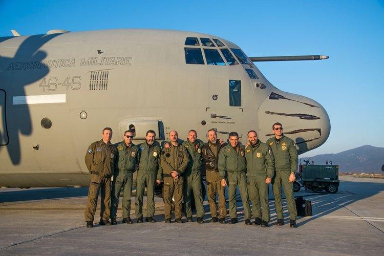 Equipaggio KC-130J 46^ Brigata Aerea Pisa