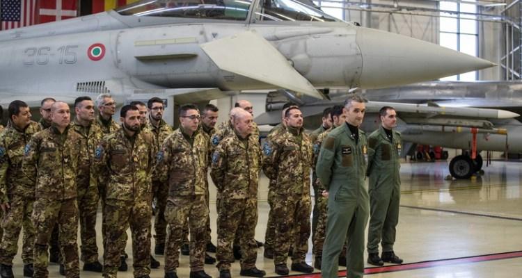 Eurofighter italiani alla Baltic Air Policing