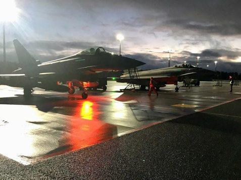 Eurofighter Typhoon F-2000A italiani nel Baltico
