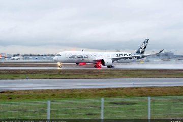 Airbus A350-1000 Demo tour