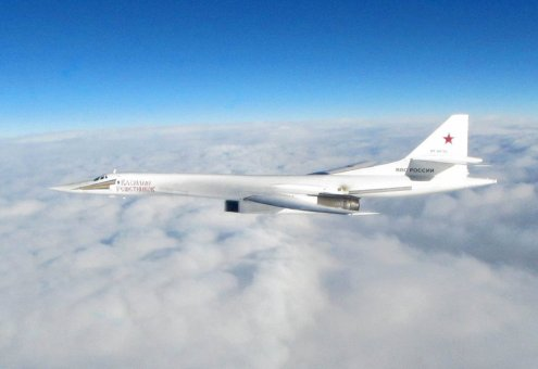 Bombardieri strategici della Russian Aerospace Forces TU-160