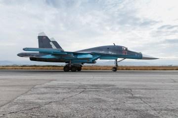 Caccia bombardiere SU-34 della Russian Air Force