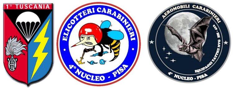 stemmi carabinieri tuscania 4nec