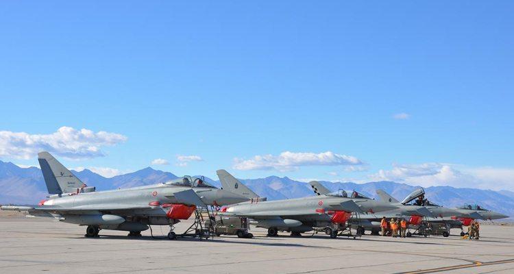 Blazing Shield 2018 China Lake Eurofighter italiani