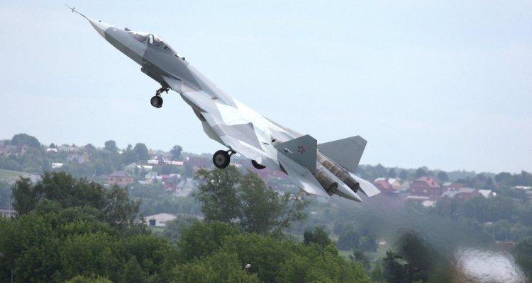 russian air force sukhoi su-57