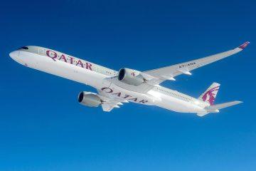 A350-1000 Qatar primo volo