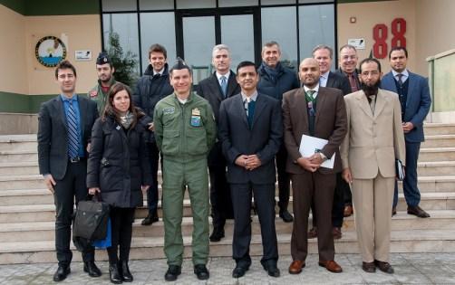 Visita Delegazione Pakistan al 41° Stormo (1)