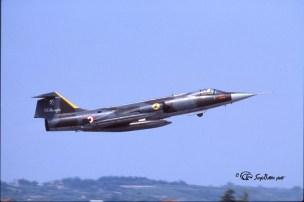 2I F-104G 6595 (3-36) 28°Gr. Villafranca 21.08.1986